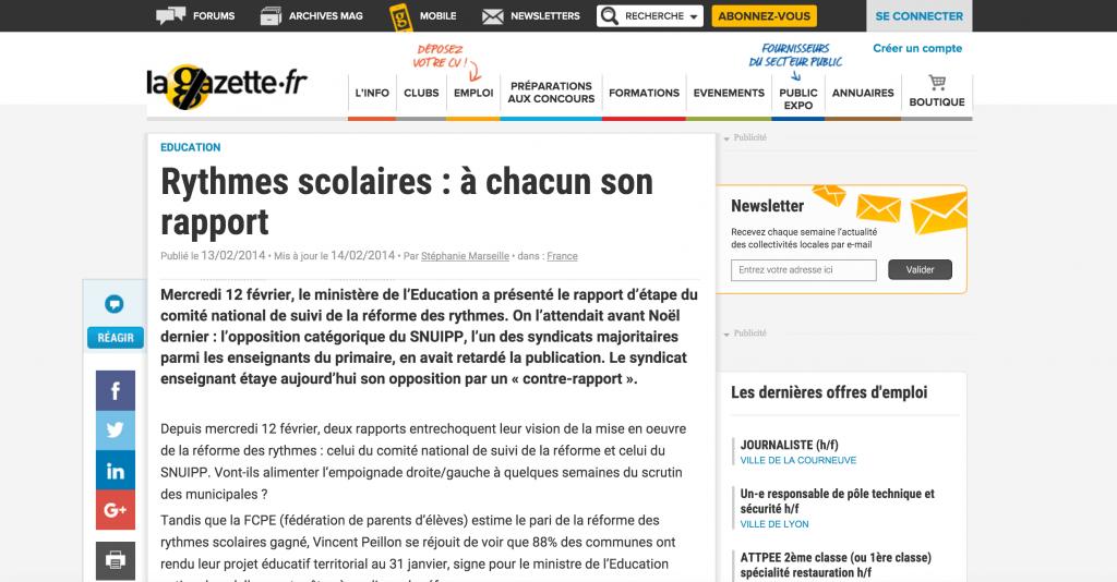 http://www.lagazettedescommunes.com/220839/rythmes-scolaires-a-chacun-son-rapport/